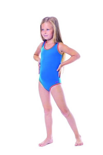 Dívčí plavky Shepa 001 (B4) 116 modrá
