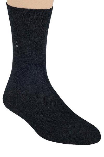 Steven 056 Pánské ponožky 45-47 šedá
