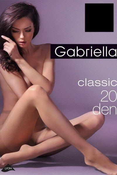 Gabriella Miss Gabriella 20 Den Code 105 Punčocháče  5-XL grigio