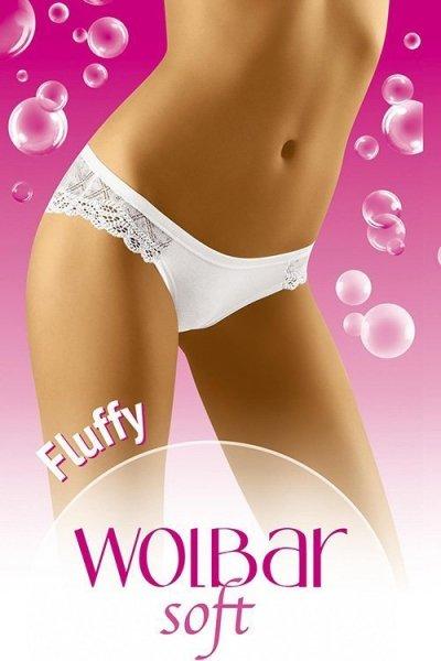 Wol-Bar Soft Fluffy Kalhotky L černá