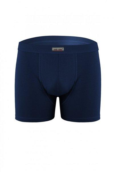 Sesto Senso Neutral tmavě modry Pánské boxerky XL tmavě modrá