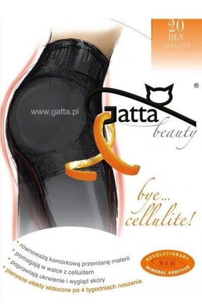 Gatta Bye Cellulite Punčochové Kalhoty 20 DEN 3-M Nero