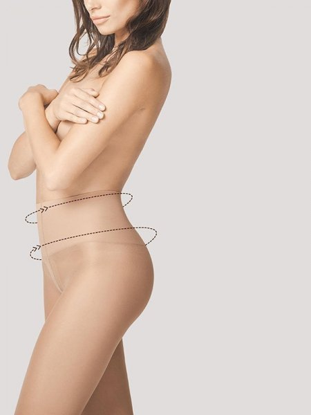 Fiore Body Care Fit Control 20 Punčochové kalhoty 2-S light natural
