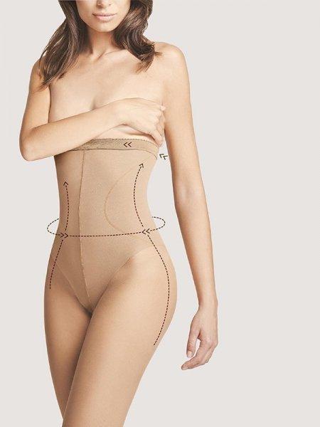 Fiore Body Care High Waist Bikini 20 Punčochové kalhoty 2-S light natural