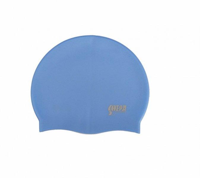 Plavecká čepice Shepa Mono (B4) One size modrá