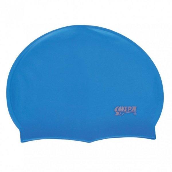 Plavecká čepice Shepa Mono (B8) One size světle modrá