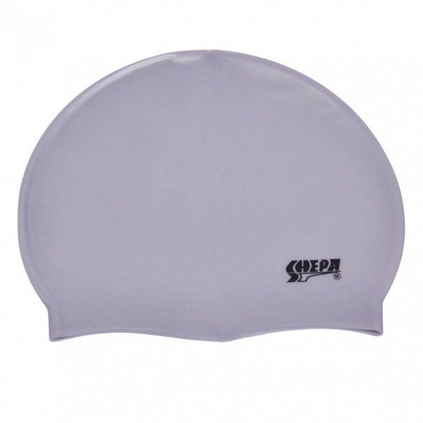 Plavecká čepice Shepa Mono (B28) One size stříbrná