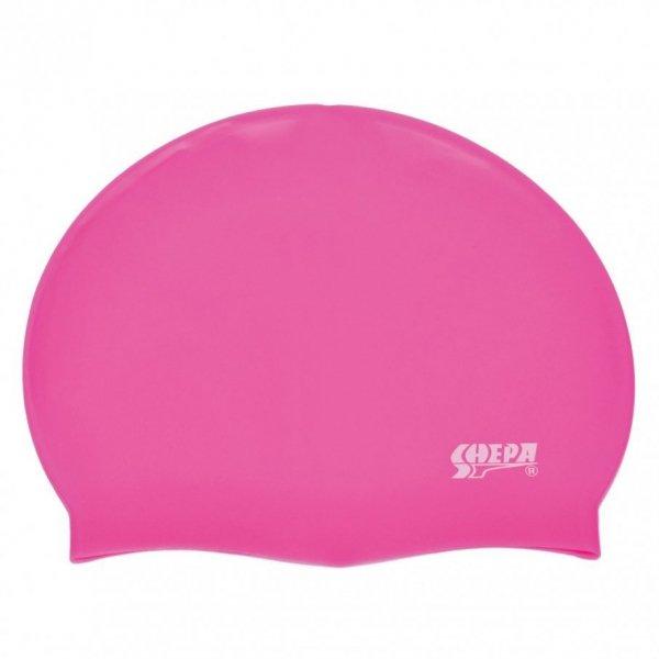 Plavecká čepice Shepa Mono (B9) One size růžová