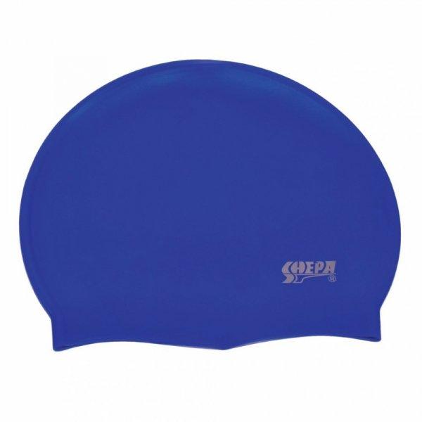 Plavecká čepice Shepa Mono (B2) One size tmavě modrá