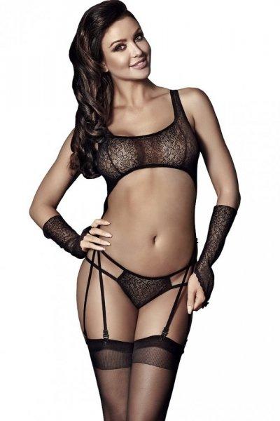 Sexy komplet Anais Tiffiny M černá
