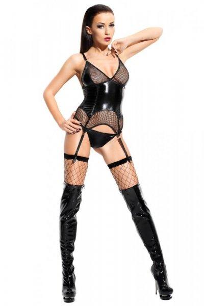 Demoniq Agathe Premium Erotická Souprava S/M černá