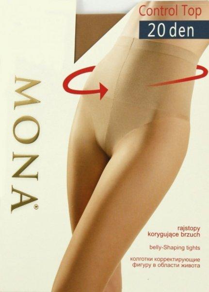 Mona Control Top 20 Punčochové kalhoty 2-S Avana (Odstín tmavě béžové)