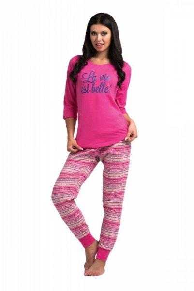Dámské pyžamo Rossli SAL-PY-1023 S růžová