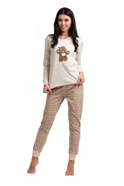 Dámské pyžamo Rossli SAL-PY-1020 XL béžová