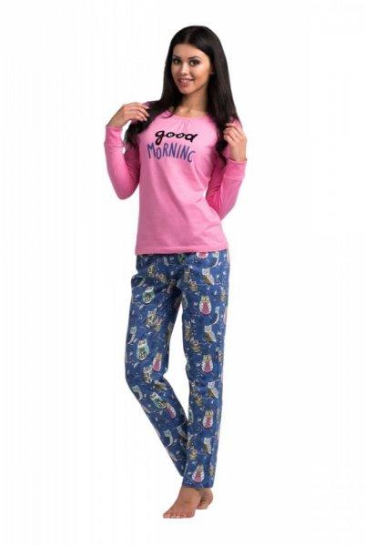 Dámské pyžamo Rossli SAL-PY 1019 S růžovo-modrá