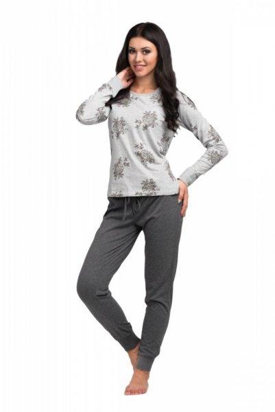 Pyžamo Rossli SAL-PY 1034 S šedo-grafitová (tmavě šedá)
