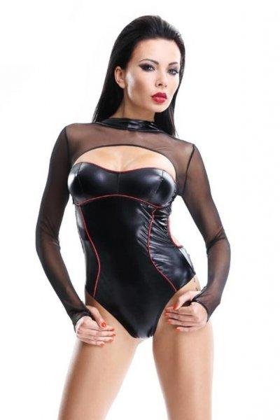 Demoniq Aimi Body XL černo-červená