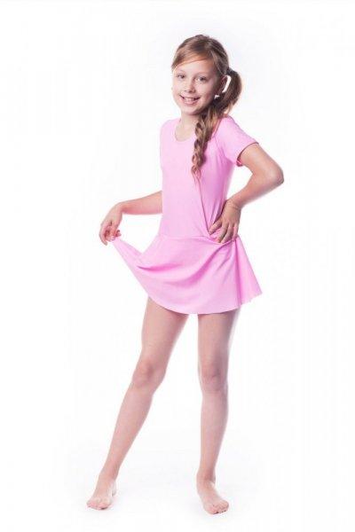 Gymnastický dres se sukní (B9) Shepa 158 růžová