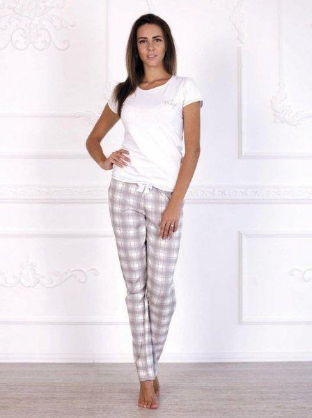 Roksana Feeling 497 Dámské pyžamo XXL bílá