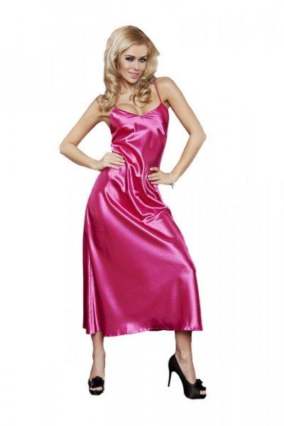 DKaren Iga dámská košilka saténová pink růžová XXL růžová