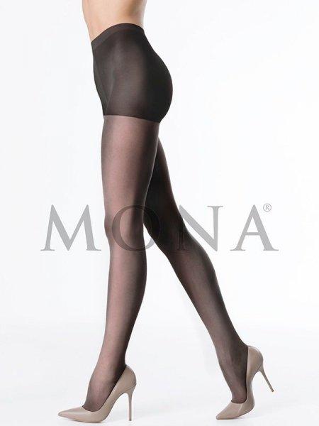 Mona Lia 15 den Punčochové kalhoty 3-M Fumo (tmavě hnědá)