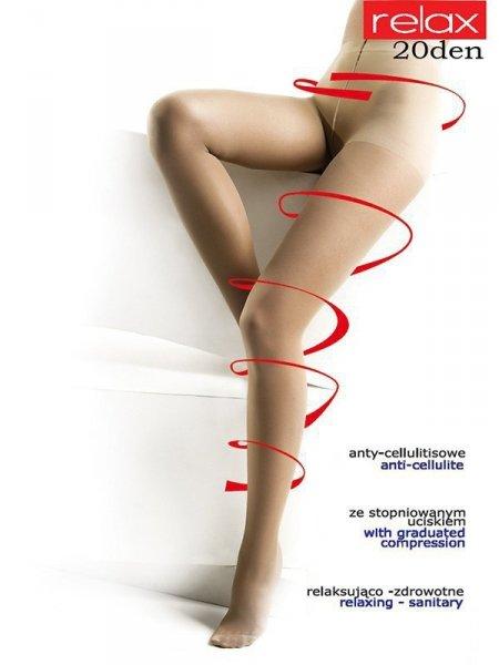 Mona Relax 20 den Punčochové kalhoty 2-S Avana (Odstín tmavě béžové)