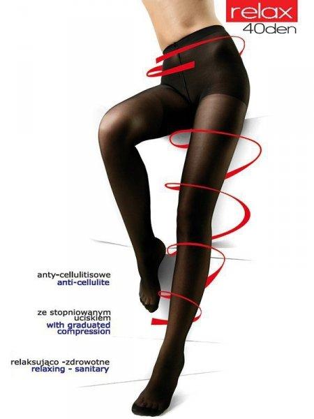 Mona Relax 40 den Punčochové kalhoty 2-S Antylope (Odstín světle béžové)