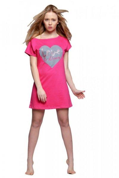 Sensis Sanne Noční košile L růžovo-šedá