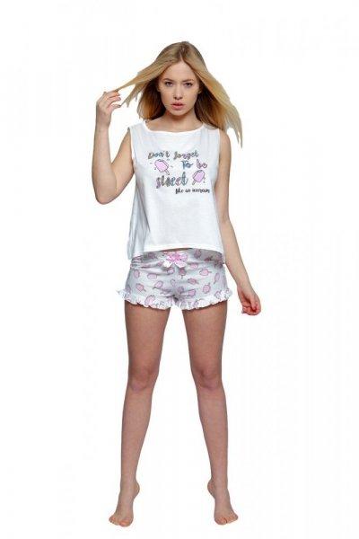 Sensis Lody Dámské pyžamo S bílý/vzor