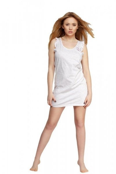 Sensis Sweet Noční košile M šedá