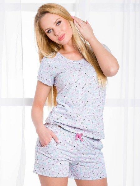 Taro Rozi 2078 SS/17 K1 Šedé Dámské pyžamo S šedá