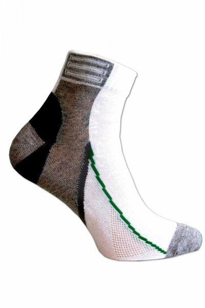 Sesto Senso Simply Ponožky 38-40 bílo-šedá