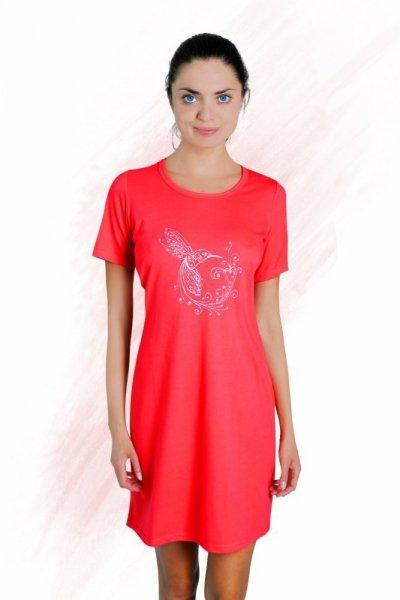 Sesto Senso Martyna Noční košile XL korálová