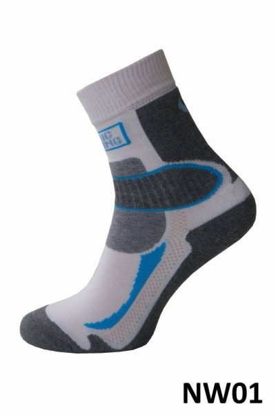 Sesto Senso Nordic Walking model 01 m Ponožky 45-47 bílo-šedá