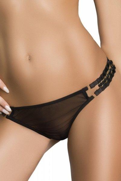 Me Seduce Nina Black Kalhotky XXL/XXXL černá