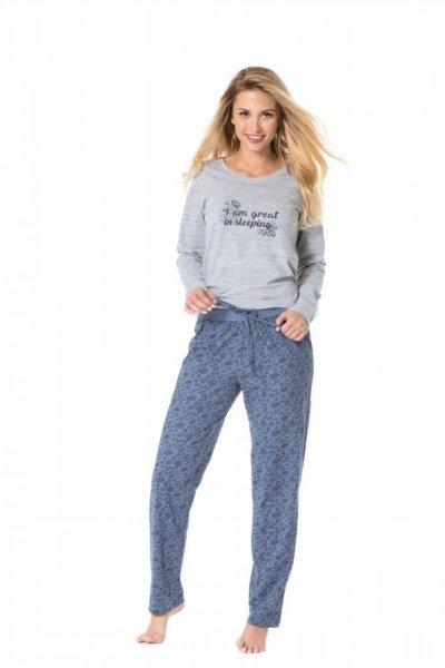 Pyžamo Rossli SAL-PY 1075 XL šedo-modrá