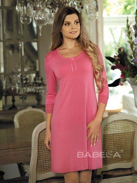 Babella Clara Noční košilka XL světle růžová