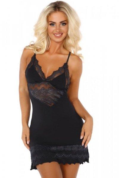 Beauty Night Petra dámská košilka black černá L/XL černá