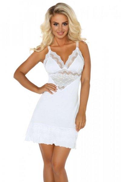 Beauty Night Petra dámská košilka white bílá L/XL bílá