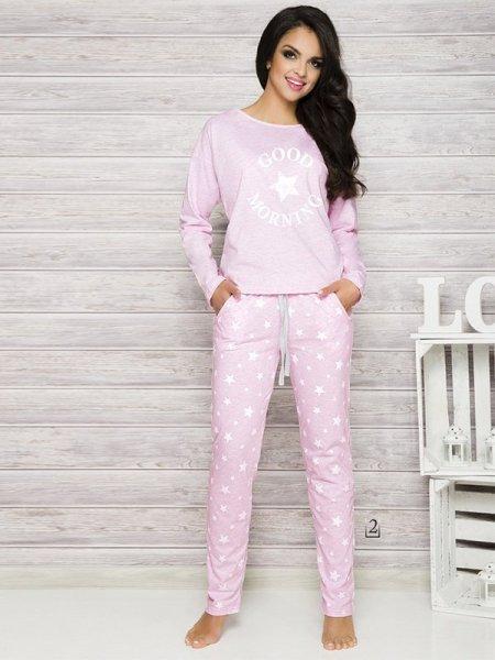 Taro Nadia 1190 K2 Růžové Dámské pyžamo L růžová