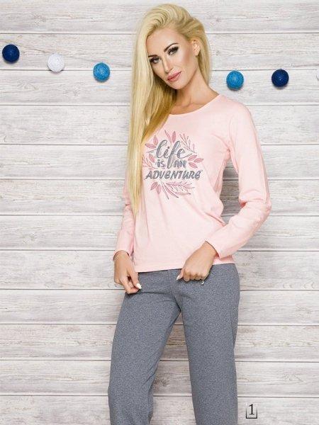 Taro Sylwia 286 AW/17 K1 Růžové Dámské pyžamo XL růžová