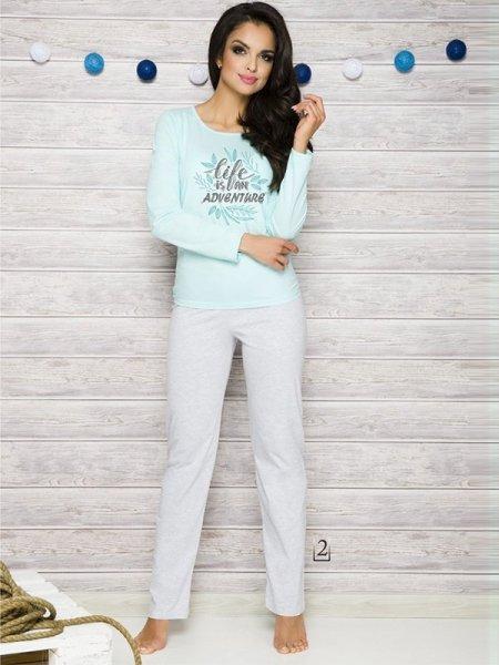 Taro Sylwia 286 AW/17 K2 Mátové Dámské pyžamo XL mátová