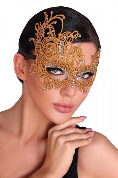 Maska na oči Golden, Mask Golden Lc 0011 Univerzální zlatá