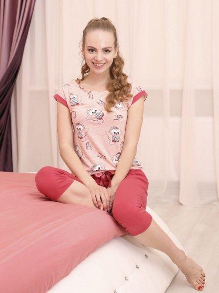 Roksana Amanda 508 Dámské pyžamo L růžová
