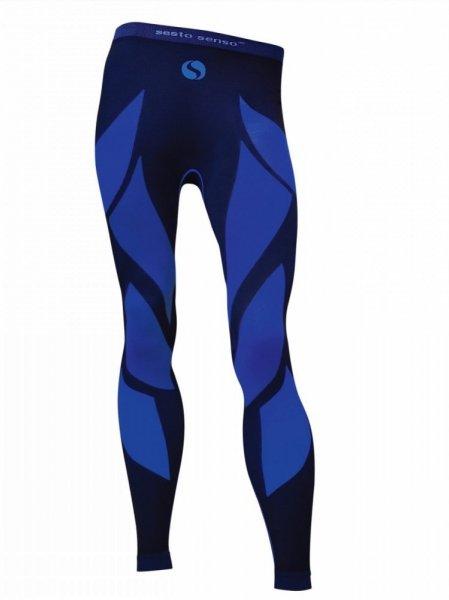 Sesto Senso Thermo Active Pánské sportovní kalhoty XXL tmavě modro-modrá
