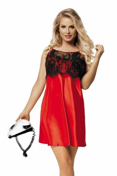 DKaren Janice dámská košilka XXL červeno-černá