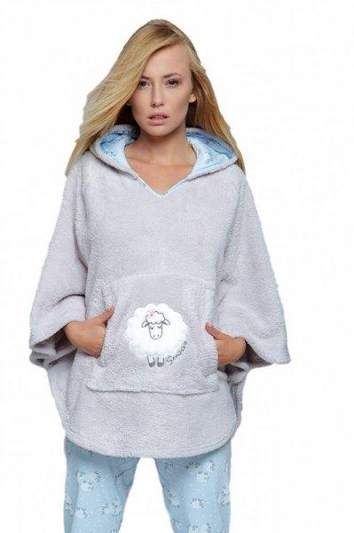 Sensis Pelerína Blue Sheep Dámský župan Univerzální šedo-blankytná
