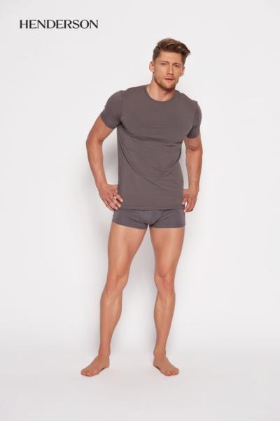 Henderson Bosco 18731 90x Šedé Pánské tričko M šedá