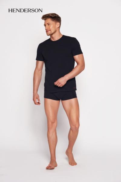 Henderson Bosco 18731 99x Černé Pánské tričko XXL černá