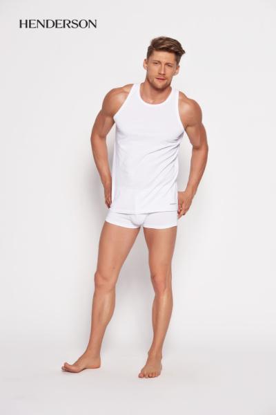 Henderson Bras 18732 00x Bílé Pánské tričko M bílá